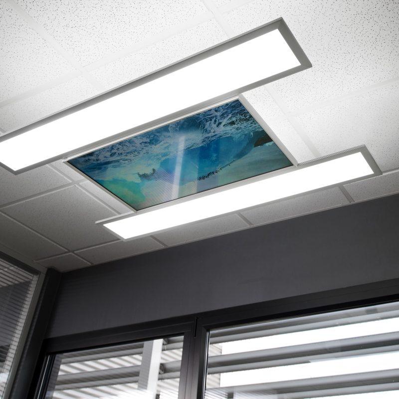 OD O'lism lampe led avec écran intégré