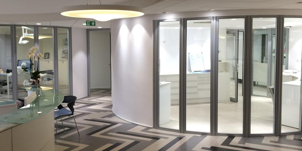 Salle de stérilisation - Smart L Blanc froid