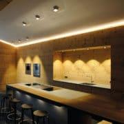OD Onyxx LED spot design dans une cuisine